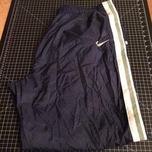 Vintage Nike Tearaway windbreaker track sweatpants